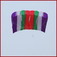 Wholesale New Arrival M Soft Kite Rainbow Kite high quality Umbrella Fabric Kite