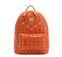 Wholesale 2013 Backpack Classic brand designer MCM Small size stark backpack stone Designer Handbags Cheap fashion casual print handbags