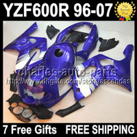 7gifts For YAMAHA YZF600R YZF 600R 96 97 98 99 00 Blue white...