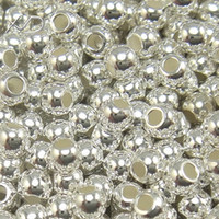 Wholesale Sterling Silver Spacers Beads For DIY Jewelry W41