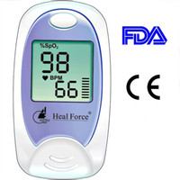 Wholesale FREE SHIP Fingertip Finger Tip Pulse Ox Oximeter Blood Oxygen Monitor Heart Rate Patient SpO2