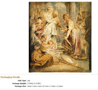 achilles painting - Classic Achilles and the daughters manmade oil painting cm
