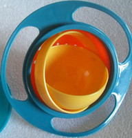 Wholesale Universal Gyro Bowl Bowl children rotating flying saucer rotating disc Bowl Bowl Bowl plastic Bowl