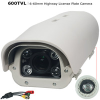 Wholesale 6 mm LPR ANPR Camera for Car License Plate Recognition Road Security Camera for High Speed Vehicle