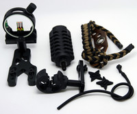 Wholesale UPGRADE KIT COMPOUND BOW STABILIZER OPTIC SIGHT ARROW REST Peep String In Set