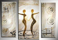 art space hands - hand painted wall art Quietly elegant space decoration abstract Landscape oil painting1