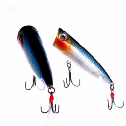80 mm 15G Top water plastic fishing hard bait lures,Popper fish lures #C1354