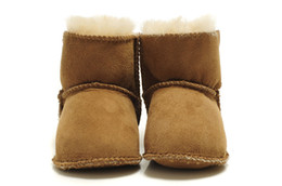 Wholesale 2014UGG Baby Boots Kids Snow Boots Sheepskin Fur Inner Winter Warm Boot original quality