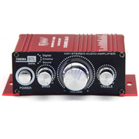 Wholesale mini CH Stereo HiFi Amplifier For Car Motorcycle Boat Home Music Power V