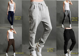 Wholesale new Casual Athletic Hip Hop Dance Sporty Harem Sport Sweat Pants Slacks Trousers Sweatpants