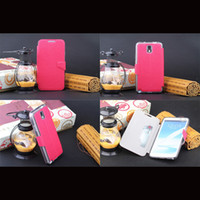PU and TPU For Samsung For Christmas Glossy PU Leather Case for Galaxy Note 3 N9000 Ultrathin Folio Flip Cover TPU Back Shell with Card Holder & Support Stand DHL 50pcs