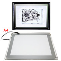 Wholesale Tattoo Accessory A4 Size NEW Tattoo Parts Professional copy board LED USB LED Tattoo Art Light Box Stencil A4 paper Transfer Tracing Table