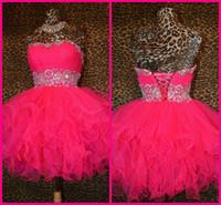 Wholesale Short Fluffy Prom Dresses - Buy Cheap Short Fluffy Prom ...