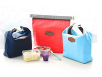 Wholesale Hot sell Newest Lunch pouch lunch cooler bag thermal bag package Lunch bag for kids at school for workers Picnic Bag