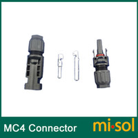 Wholesale 10 pairs MC4 Connector for solar panel male female TUV photovoltaic connector