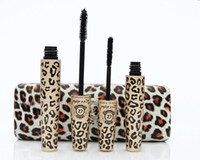 Wholesale CPA sets Fiber Leopard Lashes Mascara Brush Eye Black Long Makeup Eyelash Grower with Lovely Case