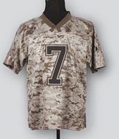 Short camo football jerseys - New Elite Jerseys Jersey Camo Color Mccuu Size Stitched Mix Order Football JERSEY
