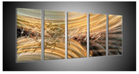 abstact oil painting - metal art wall original art abstact painting oil painting