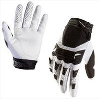 Wholesale Hot Brand New Bomber Motocross Gloves for Foxgloves Racing Motorcycle Motorcross Mountain Biking Moto bicycle dirt bike White Gloves