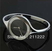 Women's Round Analog 2013 Hot Sale Brand New Women's Bracelet Watch Japan PC Movement Stainless Steel Famous Clock Fashion Hours Free Shipping