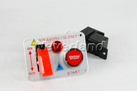 Wholesale Neverland V Ignition Auto Racing Switch Panel Engine Start Push Button Red LED Toggle