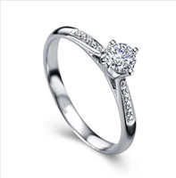 Wholesale XINTAI JEWELRY FACTORY DIRECTING K WHITE SOLID GOLD NATURAL REAL DIAMOND CT ENGAGEMENT WEDDING WOMEN RING WITH CERTIFICATE XTR1012
