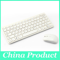 Wholesale Wireless Bluetooth Keyboard Mouse GHz Combo White for Desktop Computer Laptop Tablet Accessories with Protective Cover Durable
