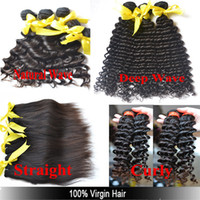 Straight Brazilian Hair  A:Hot Beauty Unprocessed 5A Top Grade Virgin Brazilian Hair 5 PCS Long Lasting Can Straighten Dye Bleach Full Cuticle Intact Hair Extensions