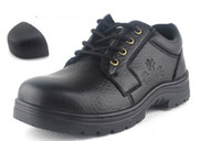 Wholesale men safety shoes steel toe cap safety boots outdoor safety shoes outdoor shoes