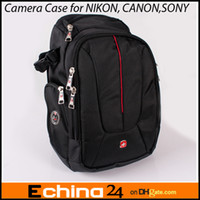 Wholesale Sling Camera Case Shoulder Bag Backpack for NIKON CANON SONY SLR SWT0372C