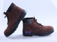 Wholesale 2013 steel toe working boots safety shoes steel toe cap safety boots outdoor safety shoes outdoor shoes
