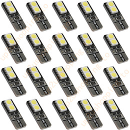 20pcs White T10 4 SMD LED Bulb Vehicle Car Canbus No Error Turn Signal Light Bulb for good price free shipping