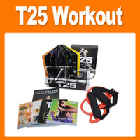 Cheap Shaun T Focus Fitness Tutorial T25 Workout Alpha Beta Core With Resistance Band hottest Factory Sealed (1202001)