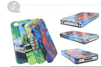 Wholesale 4S DIY D sublimation case for iphone G S DIY print with your own picture