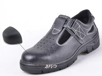 Wholesale hot selling steel toe men safety shoes steel toe cap working boots men safety shoes outdoor shoes