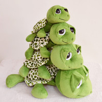 Aquatic Animals Green Plush Wholesale plush toys big eyes tortoise turtle turtle doll doll