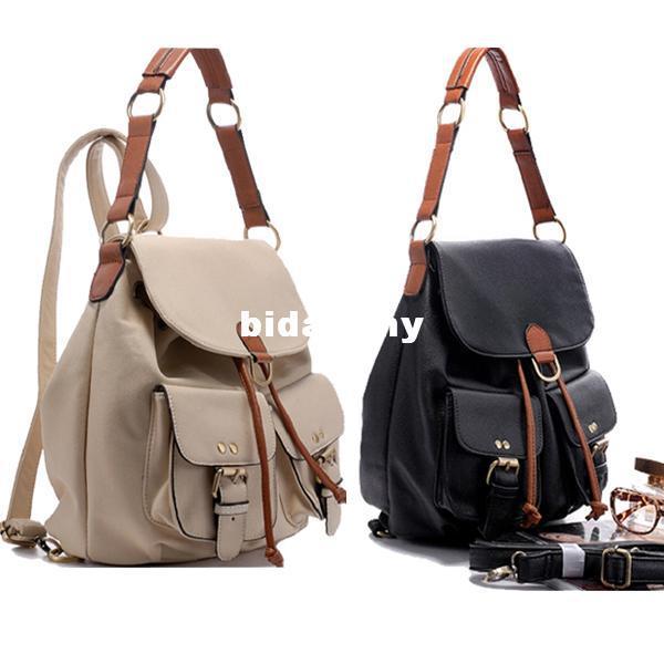 Fashion Women's Shoulder Bag Multi-use Backpack Travel Bag Ladies ...