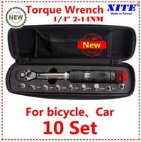 Wholesale Taiwan XITE quot DR Nm piece torque wrench Bicycle wrench bycicle bike tools kit set tool bike repair spanner