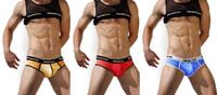 Men Briefs Sexy 1PCS New Hot Mens Man Men Male Boys Mesh Transparent See Through Sexy Underwear Briefs Low Rise Bulge Pouch Brief Shorts Underpants M L XL