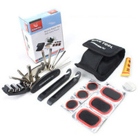 Wholesale Roswheel multifunctional bicycle tire tool box combination tools bicycle
