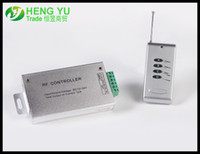 Wholesale RGB RF Audio Controller A LED Light lamp High Power RF Controller the remote controller Output V V