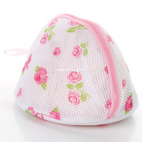 Cleaning beautiful laundry - Beautiful print belt mount triangle bra laundry bag clothing bag k1163