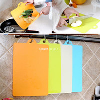Orange,Light Yellow,Green,Blue antibiotics classification - Kitchen supplies antibiotic wear resistant soft classification chopping block cutting board k1381