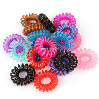 Wholesale Lxys836 candy color telephone cord headband