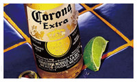 Wholesale rb229 Corona Extra Beer Banner Flag Sign