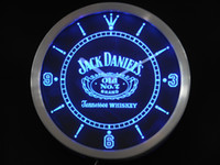 Wholesale nc0477 Jack Neon Sign LED Wall Clock a048 b design