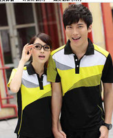 Men Polo Outdoor Sport Style Wholesale couples sportswear,TParagraphs 2013 new badminton t-shirts