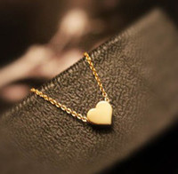 Wholesale Gold Heart Pendant Necklaces Jewelry Charm Pendant Necklaces