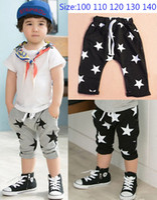 Wholesale 2016 Summer Boys Shorts Children Baby Short Pants Star Design Harem Pants Kids Clothes
