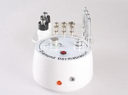 Portable Multifunction Diamond Microdermabrasion Machine For Skin Rejuvenation With Mcrodermabrasion+Spray+Vacuum